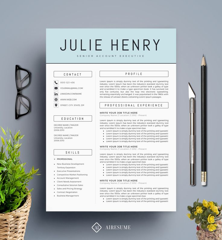 Creative Free Resume Template - Gse.Bookbinder.Co