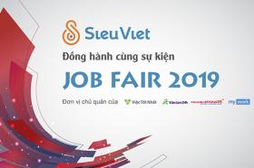Sieu Viet dong hanh cung chuong trinh Job Fair 2019 - The Ride to Multinational Companies