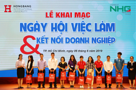 "Vieclam24h.vn dong hanh cung ""Ngay hoi viec lam & Ket noi doanh nghiep"" cua truong dai hoc Quoc Te Hong Bang"