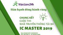 Viec Lam 24h dong hanh cung Cuoc Thi Nha Truyen Thong Tai Ba – IC MASTER 2019 tai Hoc Vien Ngoai Giao