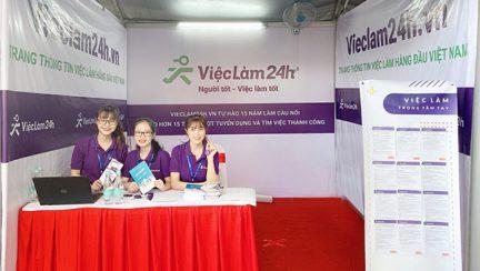Vieclam24h.vn dong hanh cung Ngay hoi viec lam truong dai hoc Ton duc Thang – TDTU JOB FAIR 2019