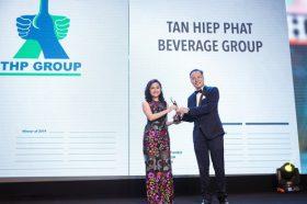 """Tan Hiep Phat duoc vinh danh la """"Noi lam viec tot nhat chau a"""" nam 2019"""